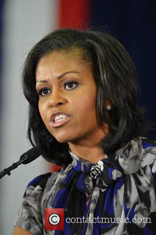 First Lady Michelle Obama, Broward College and Davie 7
