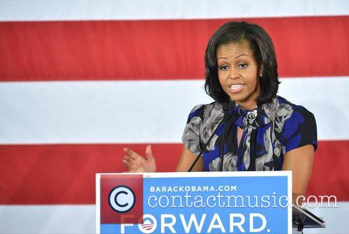 First Lady Michelle Obama, Broward College and Davie 9