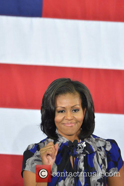 First Lady Michelle Obama, Broward College and Davie 3