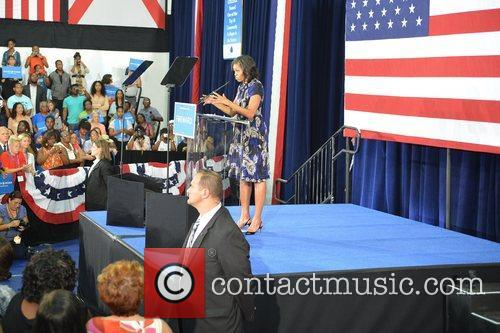 First Lady Michelle Obama, Broward College and Davie 4