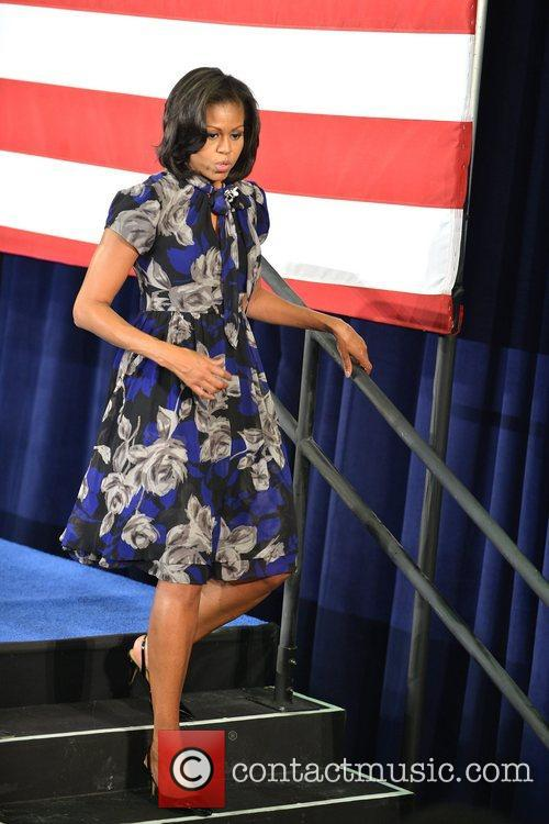 First Lady Michelle Obama, Broward College and Davie 2