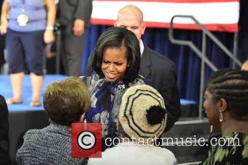 First Lady Michelle Obama, Broward College and Davie 6