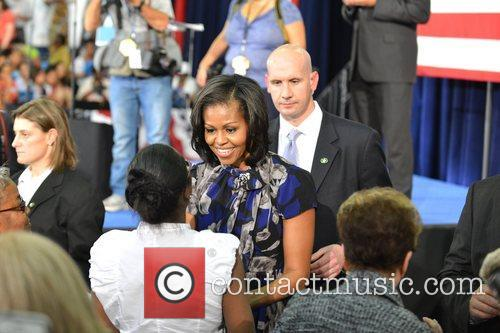 First Lady Michelle Obama, Broward College and Davie 1