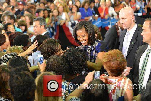 First Lady Michelle Obama, Broward College and Davie 11