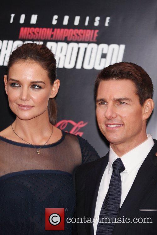 Katie Holmes, Tom Cruise and Ziegfeld Theatre 5