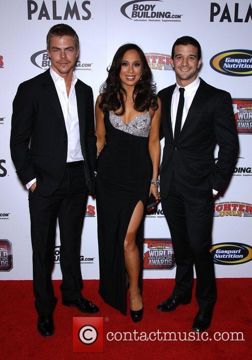 Derek Hough, Cheryl Burke and Mark Ballas 3