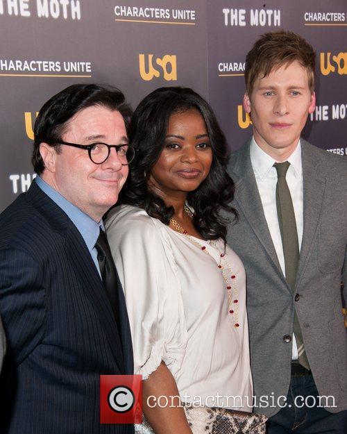 Nathan Lane, Dustin Lance Black and Octavia Spencer
