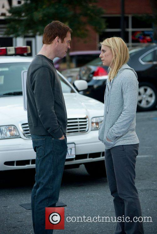 Damian Lewis and Clare Danes 3