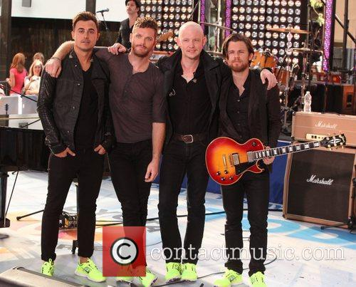 The Fray and Rockefeller Plaza
