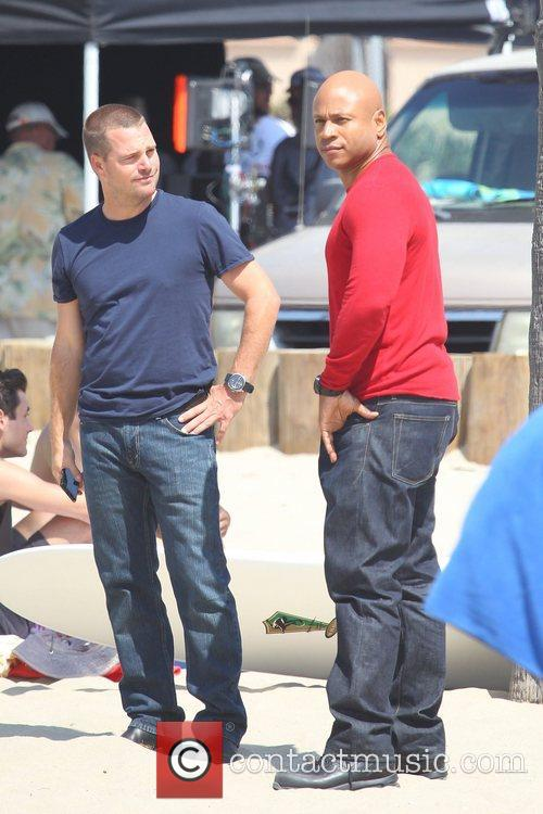 Chris O'donnell and Cool J 6
