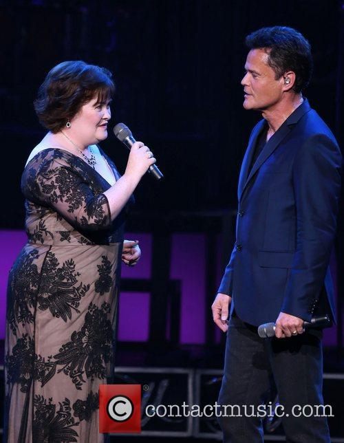 Susan Boyle, Donny Osmond, Marie Show, The Flamingo Hotel and Casino