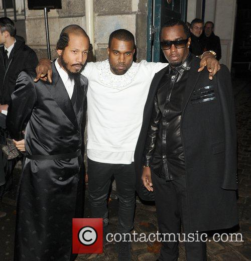 Kanye West and Sean Combs