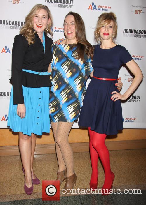 Cassie Beck, Elizabeth Marvel and Maddie Corman