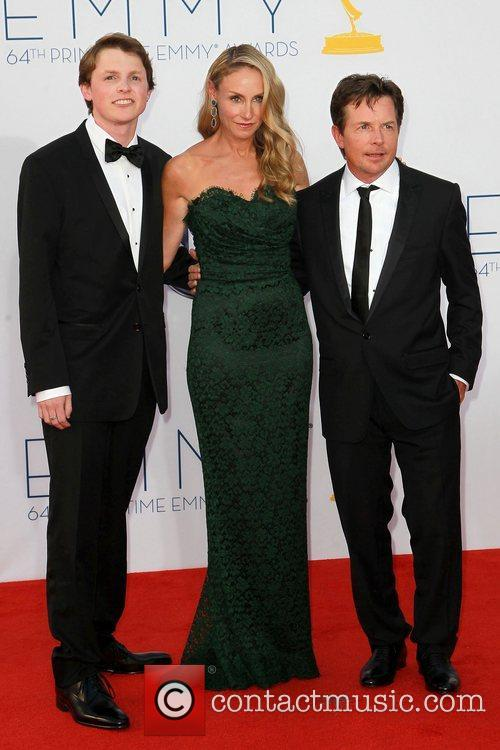 Sam Fox, Tracy Pollan and Michael J. Fox