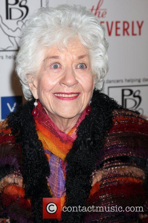 Charlotte Rae and Beverly Hilton Hotel