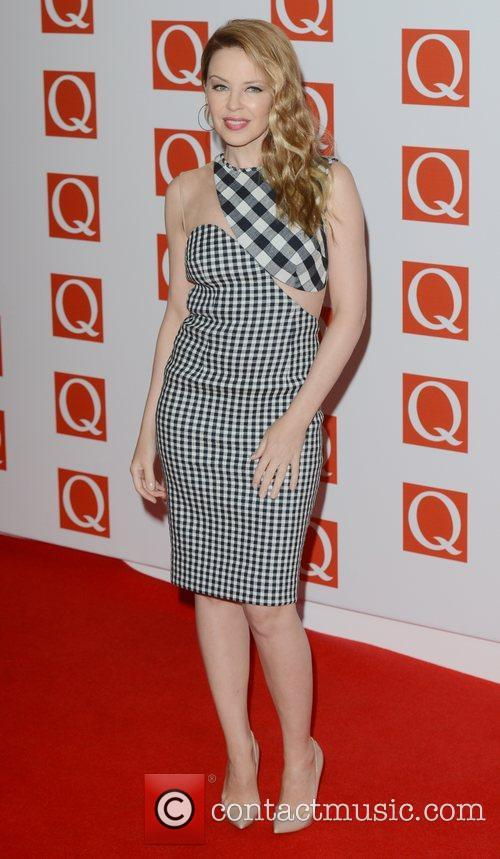 Kylie Minogue, Q Awards, Grosvenor House, London and England 2