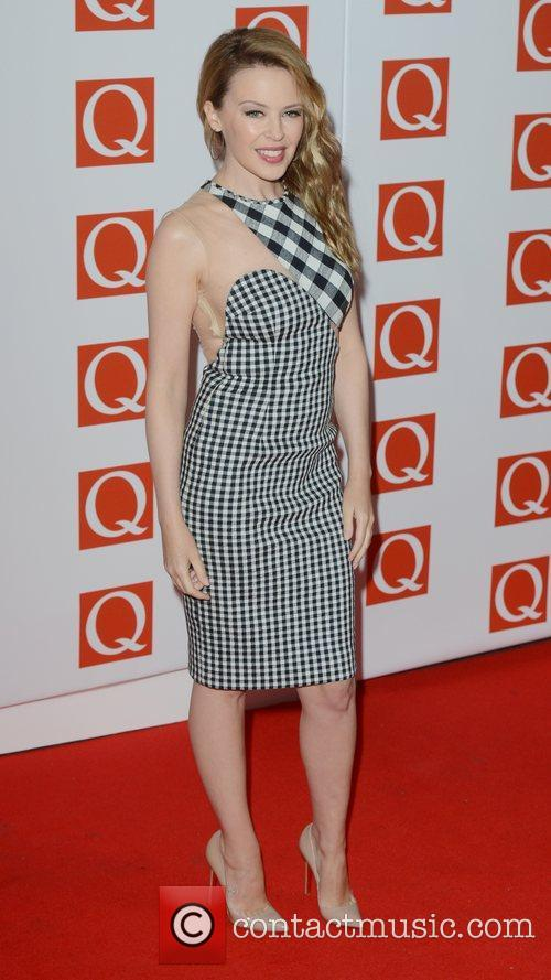 Kylie Minogue, Q Awards, Grosvenor House, London and England 4