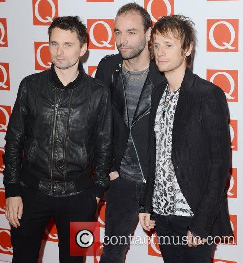 Muse, Q Awards, Grosvenor House, London and England