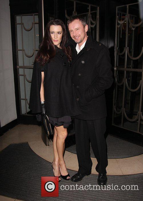 John Simm and Kate Magowan
