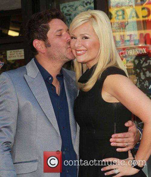 Jay Demarcus, Allison Alderson and Star On The Hollywood Walk Of Fame 1