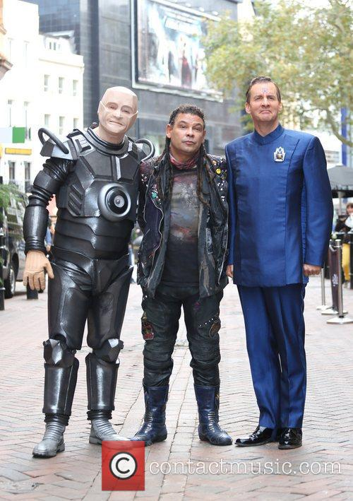 Craig Charles, Chris Barrie and Robert Llewellyn 2