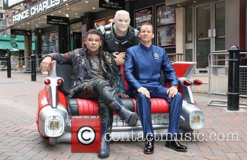 Craig Charles, Chris Barrie and Robert Llewellyn 7