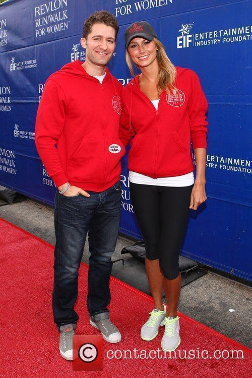 Matthew Morrison and Stacy Keibler 2