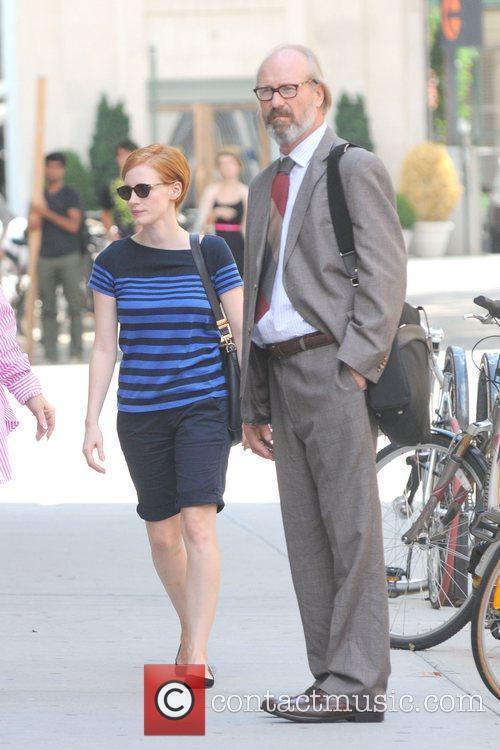 Jessica Chastain and William Hurt