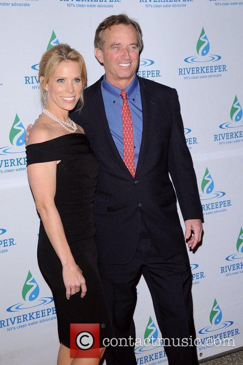 Cheryl Hines and Robert F Kennedy