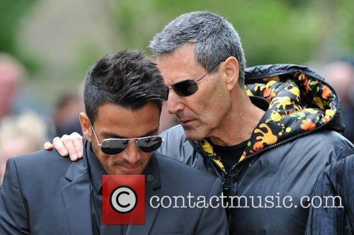 Peter Andre and Uri Geller