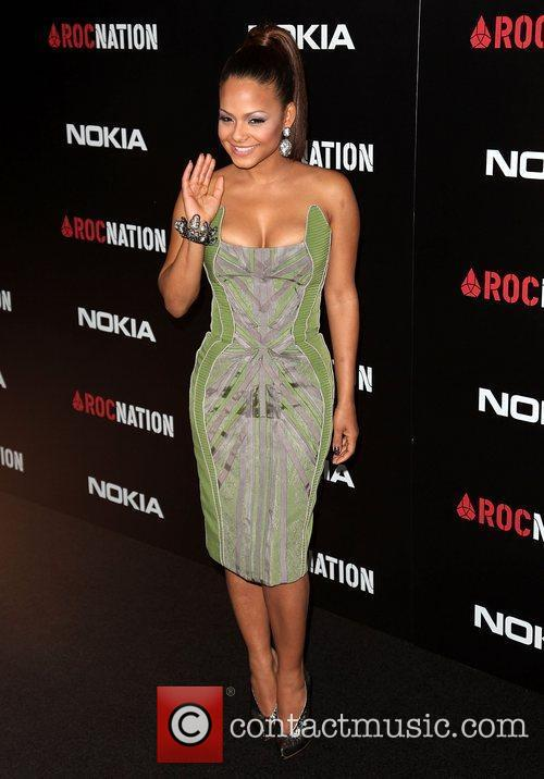 Christina Milian and Grammy 3