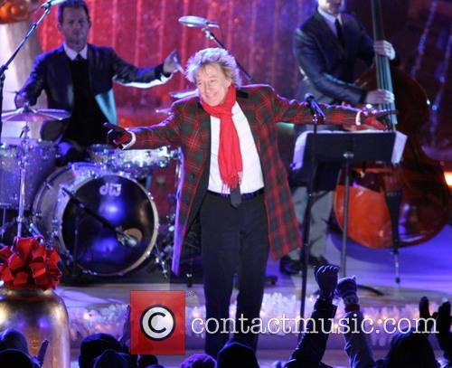 Rod Stewart, Annual Rockefeller Center Christmas, Rockefeller Center and Tree Lighting Ceremony 1