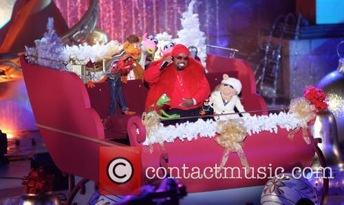 Cee Lo Green, The Muppets, Rockefeller Center and Tree Lighting Ceremony 1