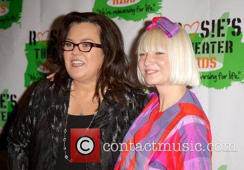 Rosie O'donnell and Sia Furler