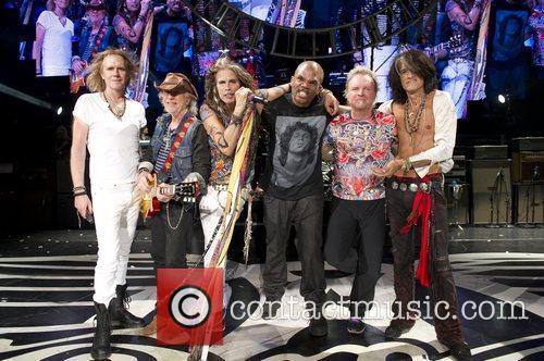 Darryl Mcdaniels, Aerosmith and Steven Tyler 1