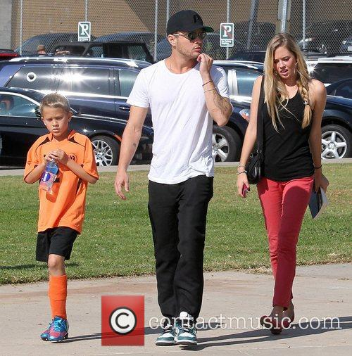 Deacon Phillippe, Paulina Slagter and Ryan Phillippe