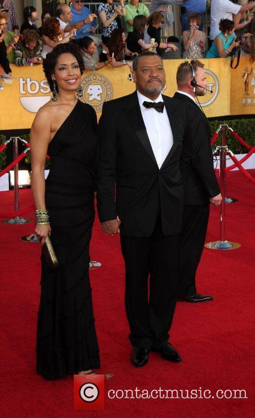 Laurence Fishburne, Gina Torres and Screen Actors Guild