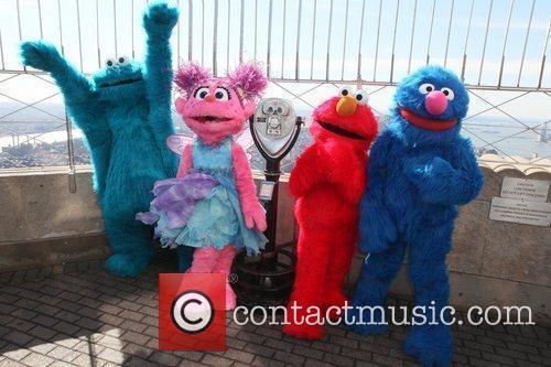 Cookie Monster, Elmo, Grover and Madison Square Garden