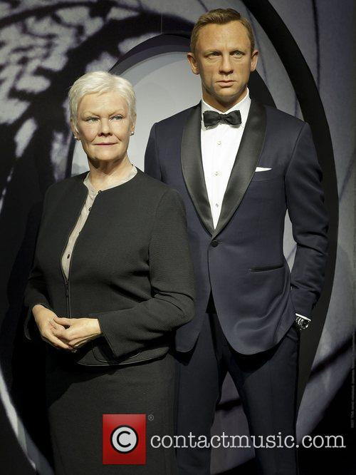 James Bond, M and Madame Tussauds