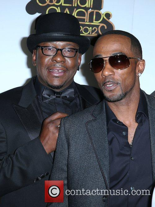 Bobby Brown and Ralph Tresvant