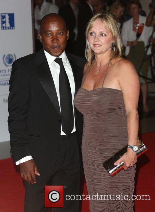 Anthony Hamilton and Linda Hamilton