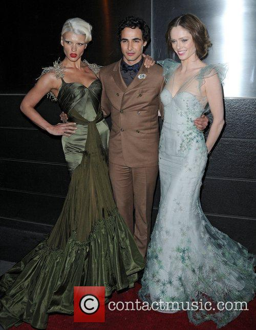 Zac Posen and Coco Rocha 1