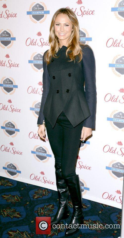 Stacy Keibler, Dikembe Mutombo's, Weeks, Save The World Lauch, Event and New York City 8