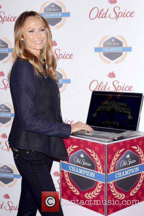 Stacy Keibler, Dikembe Mutombo's, Weeks, Save The World Lauch, Event and New York City 7