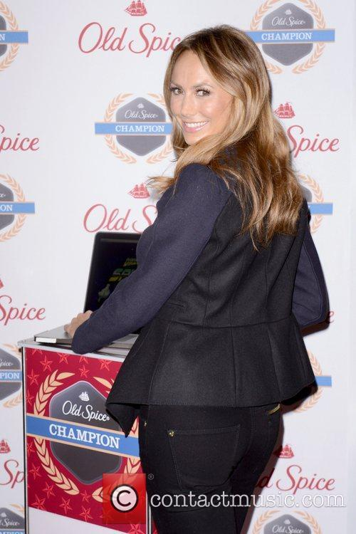 Stacy Keibler, Dikembe Mutombo's, Weeks, Save The World Lauch, Event and New York City 1
