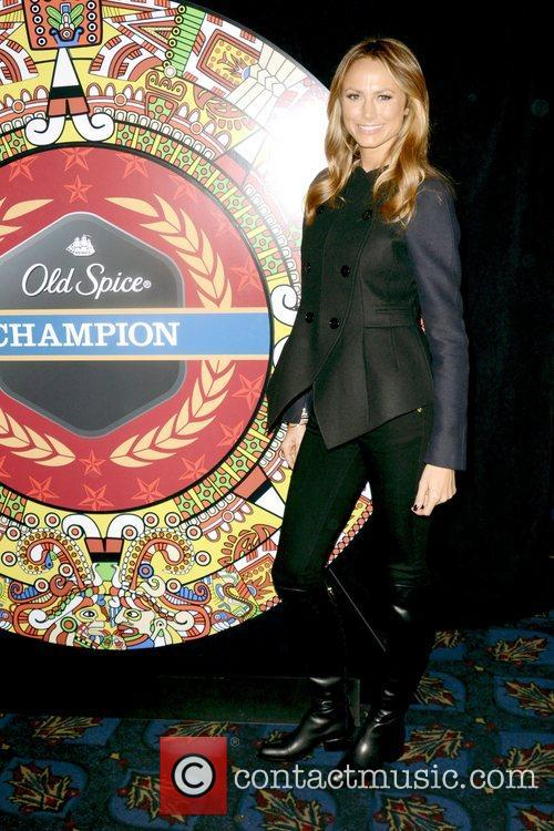 Stacy Keibler, Dikembe Mutombo's, Weeks, Save The World Lauch, Event and New York City 5