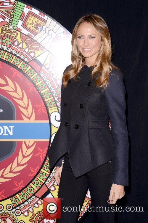 Stacy Keibler, Dikembe Mutombo's, Weeks, Save The World Lauch, Event and New York City 9