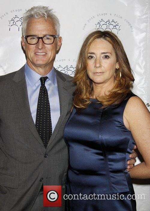 John Slattery and Talia Balsam