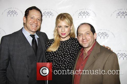 Steve Guttenberg and Ari Graynor