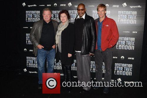 William Shatner, Kate Mulgrew, Avery Brooks, Scott Bakula, British, Patrick Stewart and Destination Star Trek London